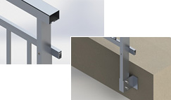 Upgrade balustrade systeem